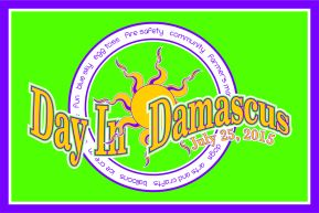 Day in Damascus Tshirt design 2015