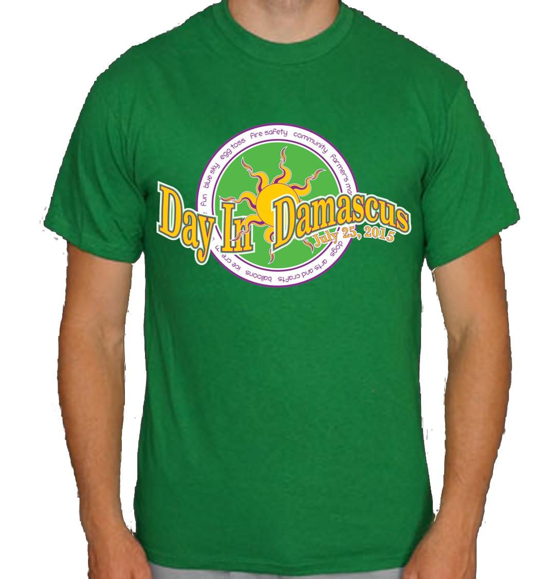 Shirt design green - T Shirt Design 2015_green